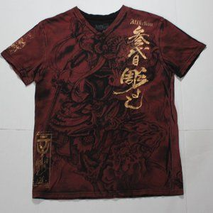 Affliction Heroes and Demons T-shirt.  Large